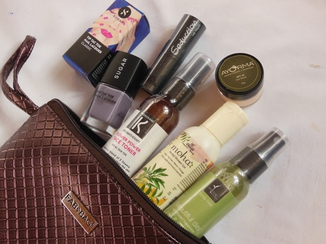 March Fab Bag 2017 Contents