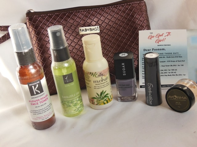 March Fab Bag 2017 Review