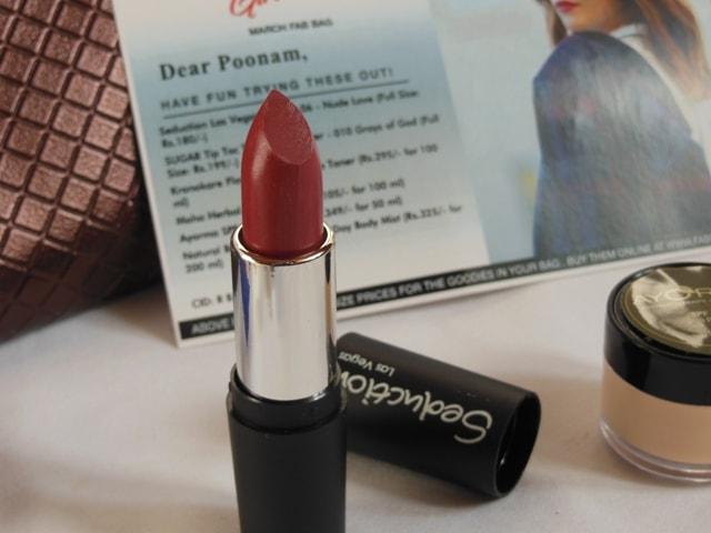 March Fab Bag 2017 - Seduction Las Vegas Lipstick