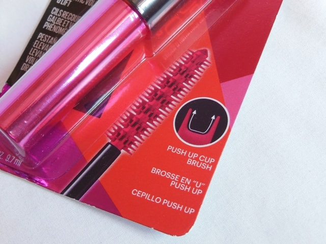 Maybelline Push Up Drama Mascara Bristles