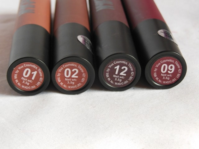NYKAA PaintStix Nude Brown Shades-min