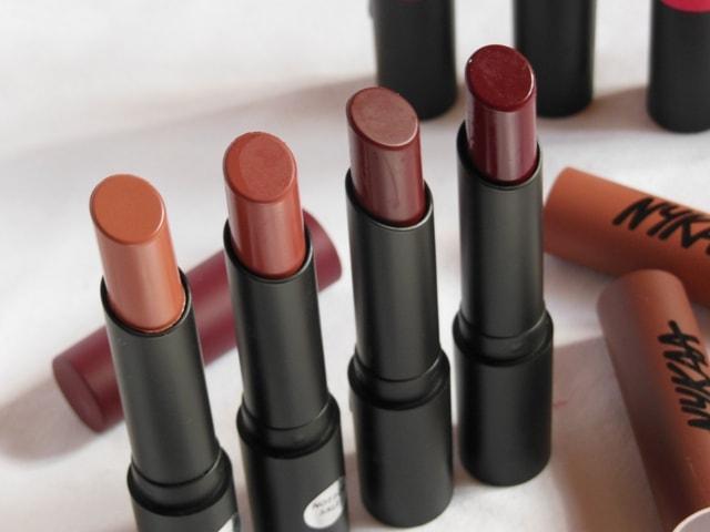 NYKAA PaintStix Nudes browns Lipstick Shades-min