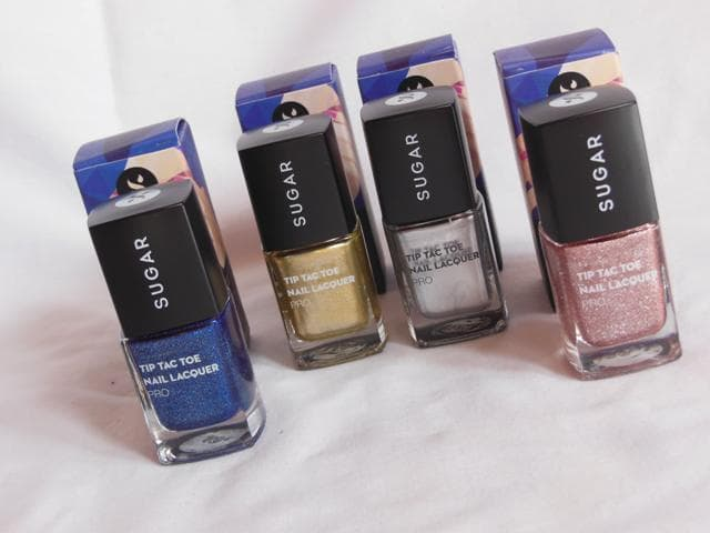 Sugar Cosmetics Tip Tac Toe Nail Lacquer Collection Pro
