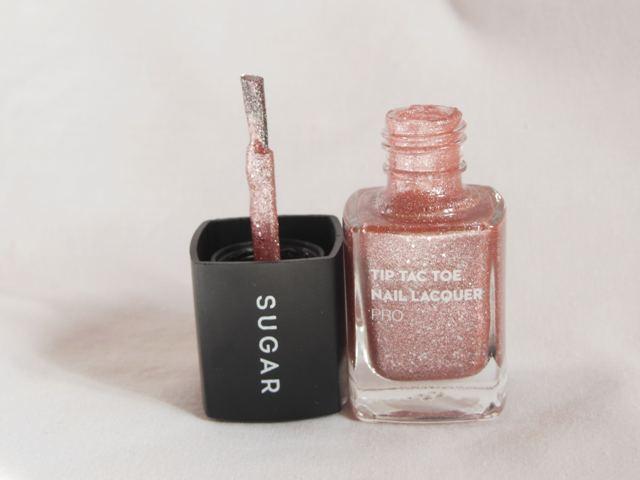 Sugar Cosmetics Tip Tac Toe Nail Lacquer Packaging