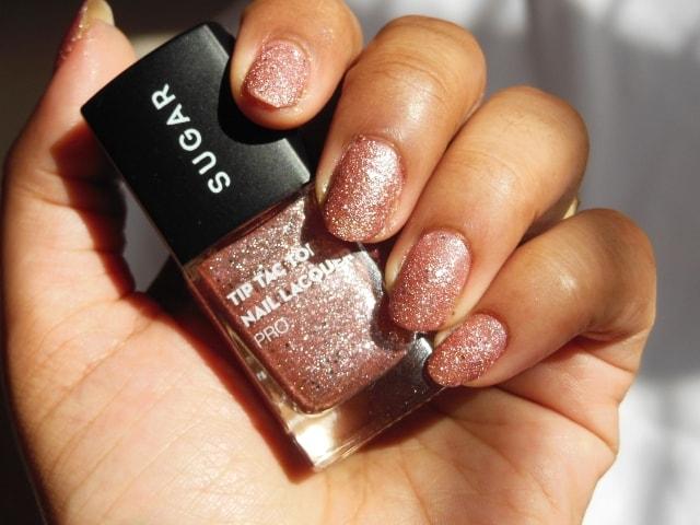 Sugar Cosmetics Tip Tac Toe Nail Lacquer -Rambling Rose Shade
