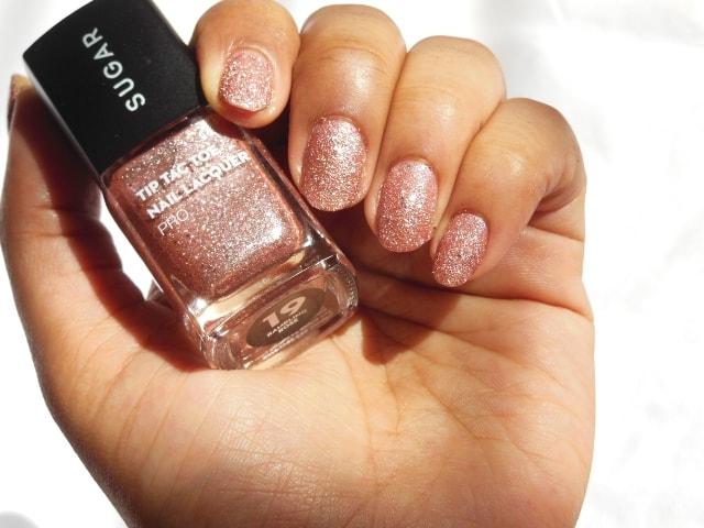 Sugar Cosmetics Tip Tac Toe Nail Paint Rambling Rose