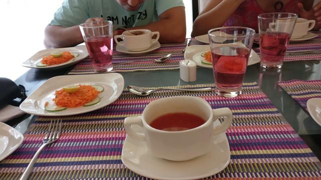 Lunch at Kairali Resorts