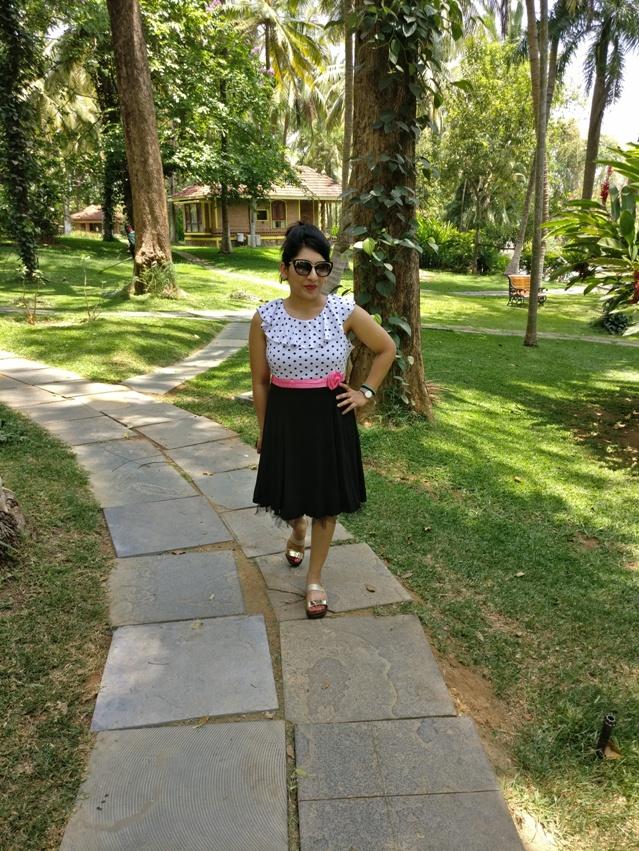 Outfit at Kairali Resort Palakkad