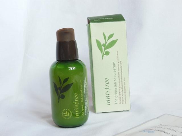 Best Facial Serum - Innisfree Green Tea Seed Serum Packaging