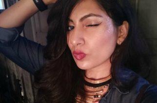 Coachella Inspired Makeup at Colorbar Bloggers Meet