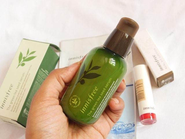 Innisfree Green Tea Seed Serum for Flawless Skin