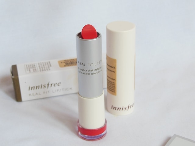 Innisfree Real Fit Lipstick Packaging