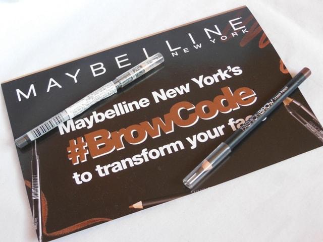 Maybelline Creamy Brow pencil - Brown and Dark Grey