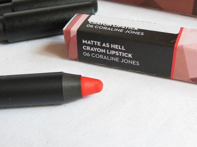 New Sugar Matte As Hell Crayon Lipstick - Coraline Jones