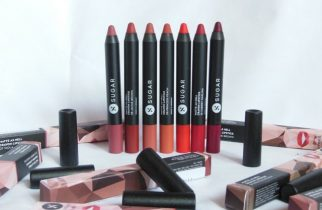 New Sugar Matte As Hell Crayon Lipsticks Review