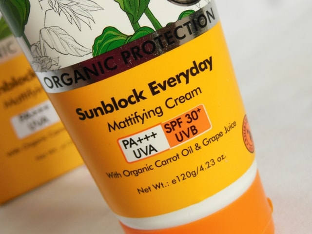 TBC Mattifying Sunblock SPF 30
