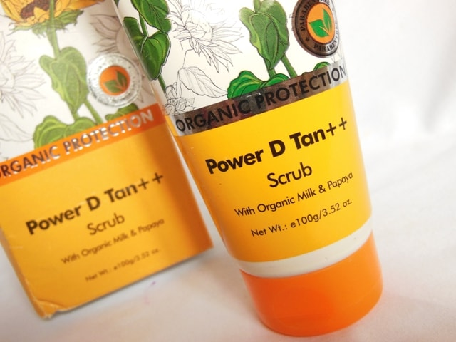 TBC Power D Tan Scrub Packaging