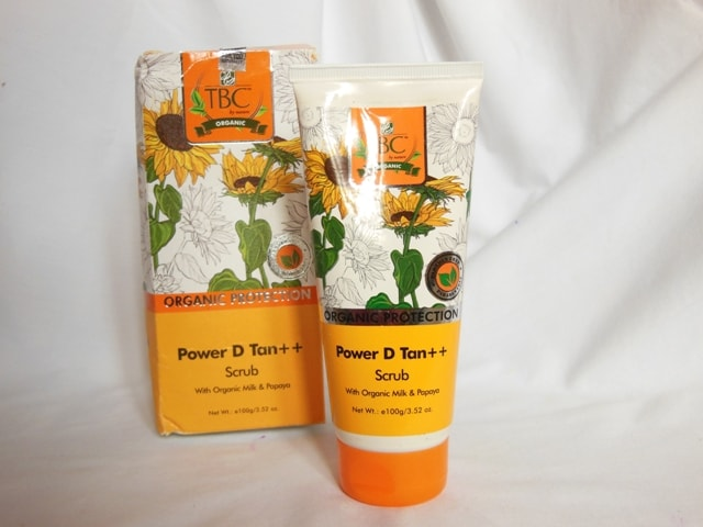 TBC Power D Tan Scrub Review