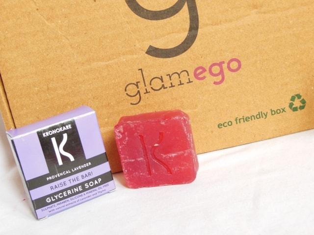 Glamego June 2017 Box- Kronokare Lavendar Soap