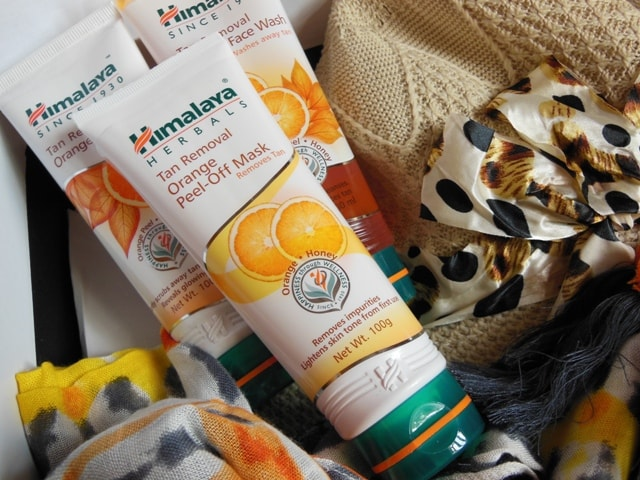 Himalaya Herbals Tan Removal Kit Orange Review