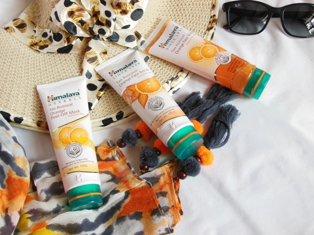 Himalaya Herbals Tan Removal Orange Products