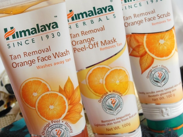 Himalaya Herbals Tan Removal Orange Range