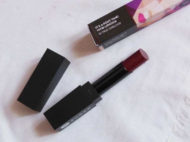 Sugar Vivid Lipstick True Oxblood