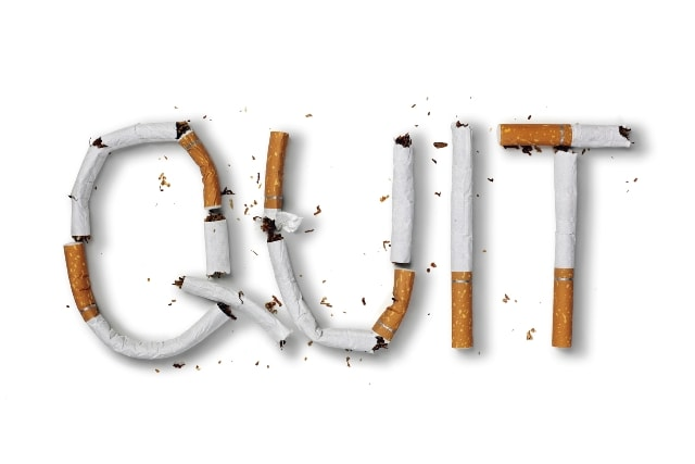 lifestyle Changes to prevent gas and bloating- Quit Smoking