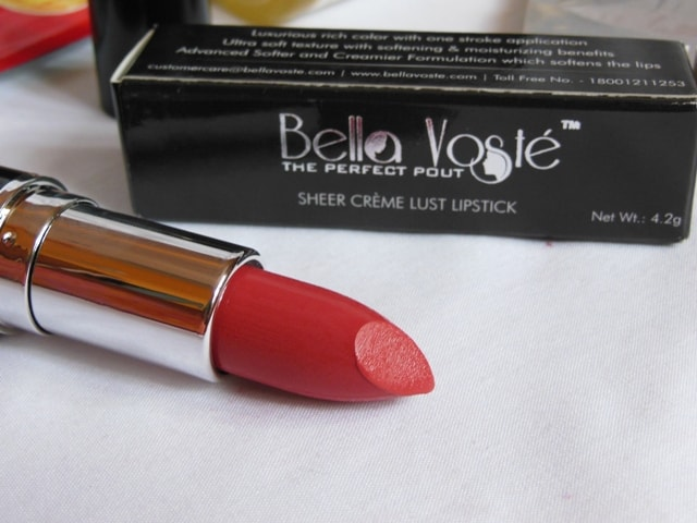 August Fab Bag - Bella Voste Lipstick Peachy Punch