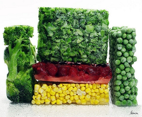 Frozen Food is not processed