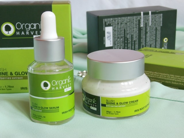 Glowing Skin this Festive Season - Organic Harvest Serum + Cream