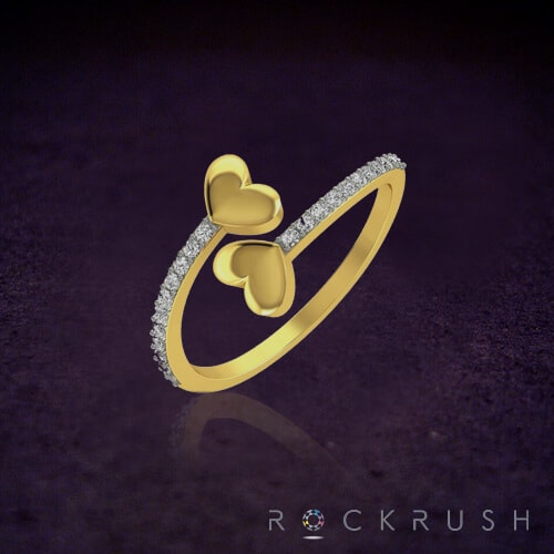 Gold Ring Designs - Those hearts with store secrets