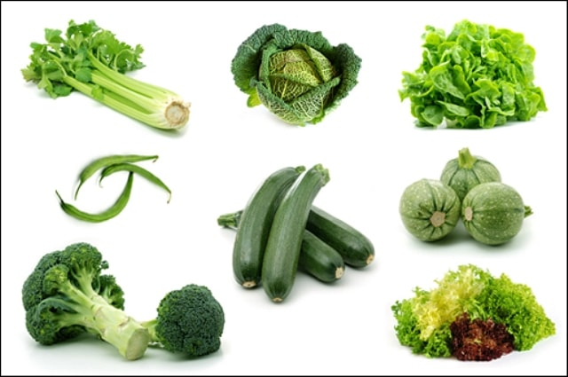 Home Remedies for heartburn - Leafy vegetables