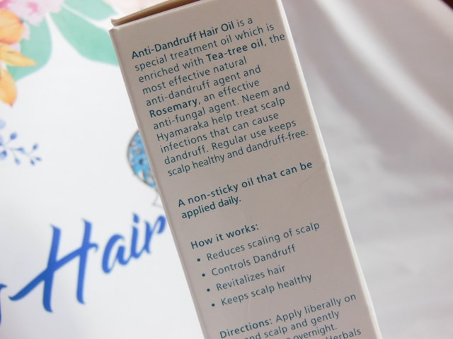 Himalaya Anti Dandruff Hair Oil Review