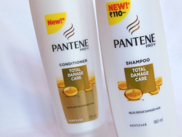 Pantene Total Damage Care Shampoo and Conditioner Review