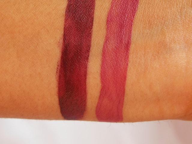 IsaDora Ultra Matt Liquid Lipstick Swatch 2