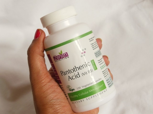 Zenith Nutrition Pantothenic Acid Supplement Review