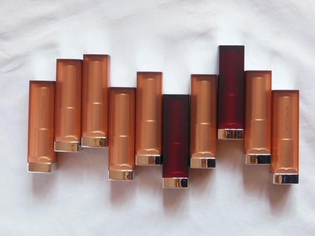 Maybelline Inti MAtte Nudes Lipsticks Shades