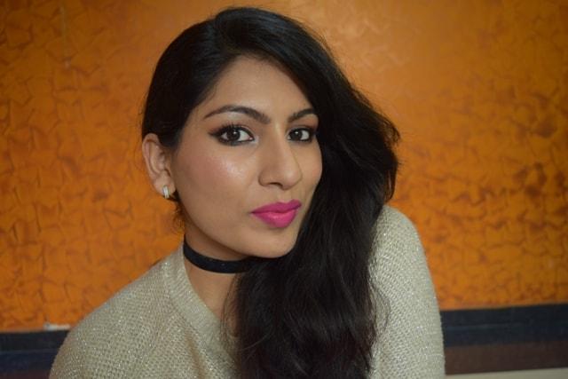 Maybelline Superstay matte Ink Lipstick Believer FOTD