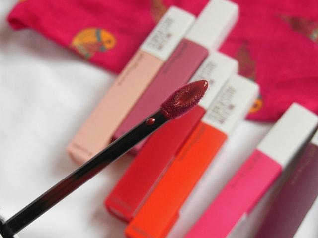 Maybelline Superstay matte Ink Lipstick wand
