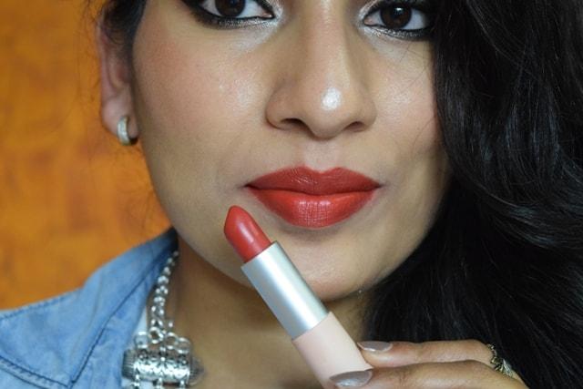 Maybelline X GIGI Hadid Lipstick - Khair Lip Swatch