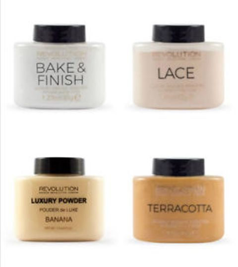 Best Makeup Revolution Makeup Products - Luxury Banana Powders