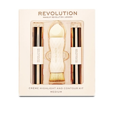 Makeup Revolution New launches - MUR Creme contour and Highlight Kit