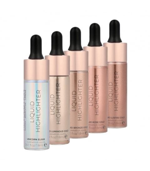 Makeup Revolution New launches - MUR Liquid Highlighters