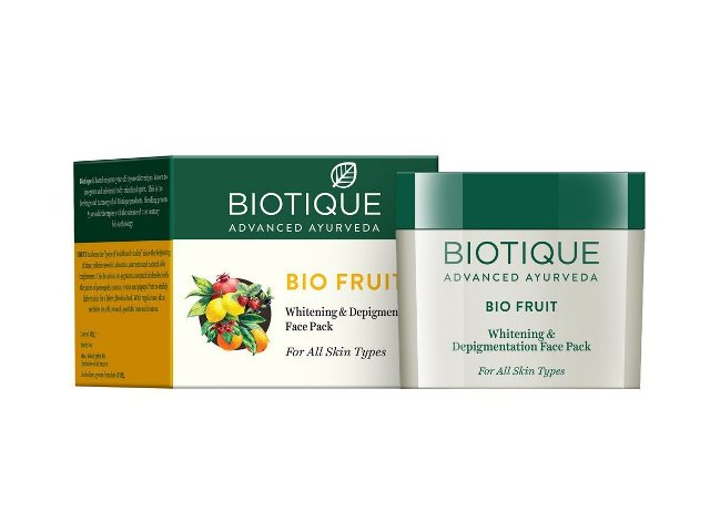 Best Tan Removal face pack - Biotique BioFruit Depigmentation Face Pack