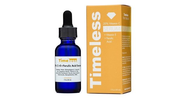 timeless vitamin C+ E